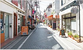 リバーサイドモール 和泉多摩川商店街徒歩 6分(約 410m