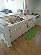 モデルハウス キッチン