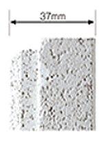 厚さ37mmの高断熱外壁材を標準採用