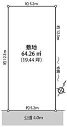 武蔵浦和駅 徒歩8分 【売地】 さいたま市南区白幡3丁目