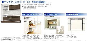 食器洗浄乾燥機付きキッチン