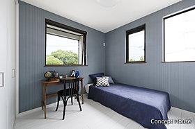 【コンセプトハウス】落ち着いた雰囲気のベッドルーム