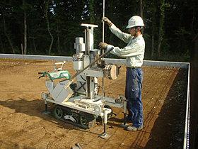 一棟ごとに地耐力、土質、地下水などの地盤状況を綿密に調査