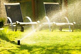 水のチカラで街を涼しく。自動散水システムを設置※イメージ画像