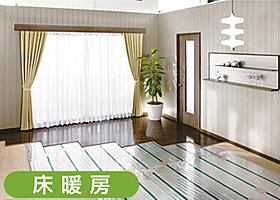 リビング・ダイニング 床暖房完備!!