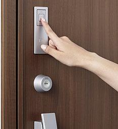 指先だけで開錠・施錠「スマートタッチキー」