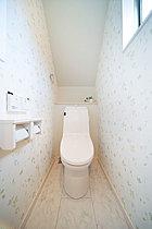 節水機能もついたお財布に優しいトイレもちろんお掃除も楽チン。