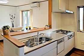 食器洗い乾燥機など機能的なキッチン!