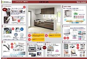 I型キッチン  W2550