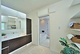 広々洗面室