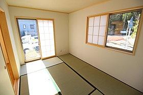 全棟、落ち着きのある和室を配置いたしました!