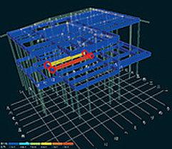 388項目の構造計算を各一棟ごとに実施。