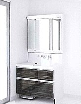 ■タカラ洗面化粧台 三面鏡 ハンドシャワー