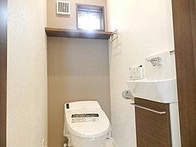 シャワートイレ(手洗いキャビネット付き)