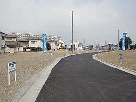 イメージ街区内道路。約6mの幅があるので広々♪
