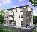 南道路・東南角地 陽当たりが自慢の新築分譲住宅