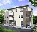 東南角地 陽当り良好な新築住宅