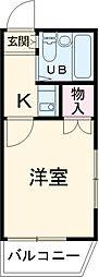 瓢箪山駅 2.7万円