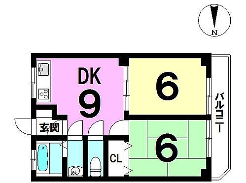 マンション(建物一部)-広島市佐伯区五日市4丁目 間取り