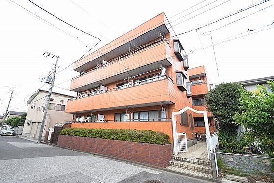 マンション(建物全部)-松戸市新松戸3丁目 外壁はタイル張りで綺麗な外観