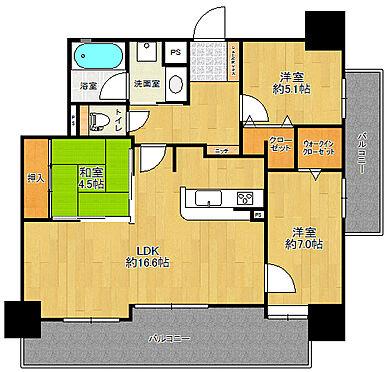マンション(建物一部)-佐賀市鍋島2丁目 9階部分3LDK角部屋