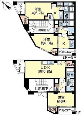 マンション(建物全部)-江戸川区平井6丁目 間取り