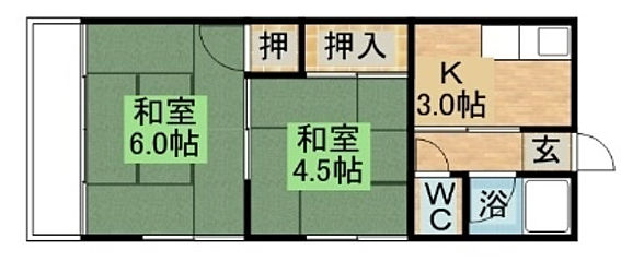マンション(建物全部)-長崎市稲佐町 間取り