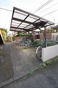アパート-千葉市中央区寒川町3丁目 入居者専用の屋根付き駐輪場