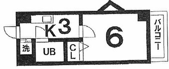 マンション(建物一部)-久留米市西町 間取り