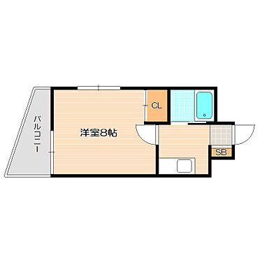 ビル(建物全部)-福岡市博多区千代2丁目 洋室8帖で広めの間取り