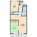全室南側バルコニーで陽当り良好。収納スペースも豊富。
