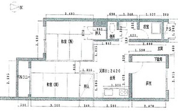 マンション(建物一部)-浜松市中区佐鳴台4丁目 間取り