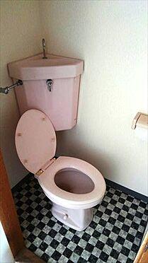 アパート-佐野市植野町 トイレ