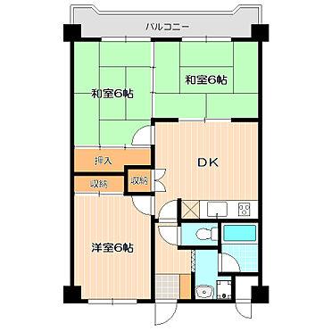 ビル(建物全部)-北九州市小倉南区徳力7丁目 南側バルコニーで陽当り良好。リフォーム部屋も有。