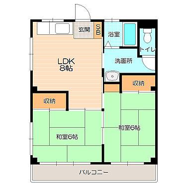 マンション(建物全部)-葛飾区東四つ木4丁目 ファミリー向けの広々使える間取り。