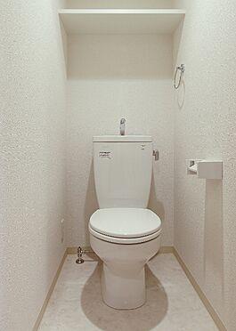 マンション(建物一部)-京都市東山区西町 トイレ