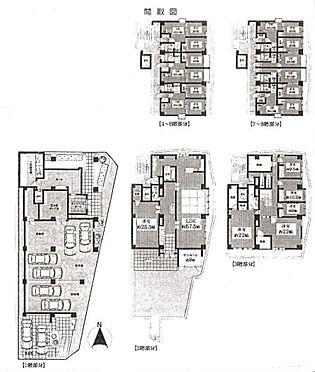 マンション(建物全部)-江戸川区東葛西7丁目 間取り