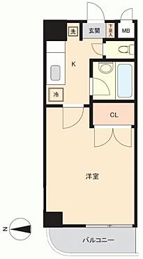 マンション(建物一部)-秋田市南通築地 間取り