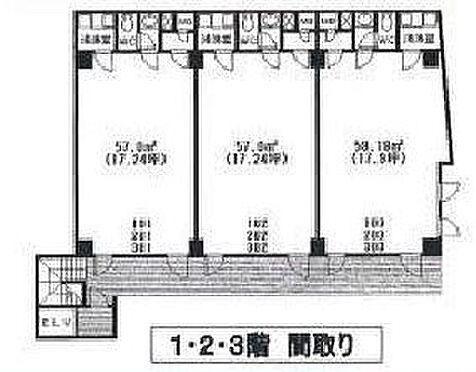 ビル(建物全部)-仙台市宮城野区田子字新入 間取り