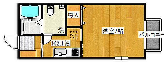 アパート-仙台市青葉区堤町3丁目 101号室間取り