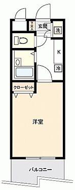 マンション(建物一部)-熊本市中央区水前寺5丁目 間取り