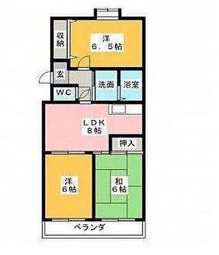 マンション(建物全部)-静岡市駿河区西島 間取り