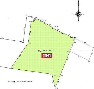 寮-糟屋郡新宮町上府北1丁目 測量図
