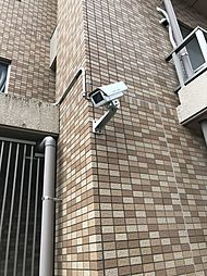 駐車場周りに防犯カメラも完備されておりまさかの時に安心です