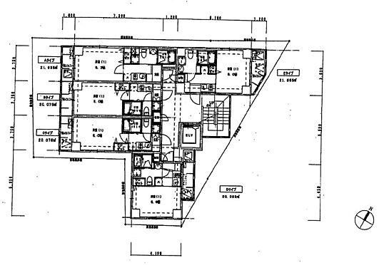 マンション(建物全部)-中野区野方5丁目 2・3階部分間取り