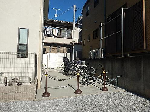 アパート-新宿区若葉1丁目 駐輪場です。
