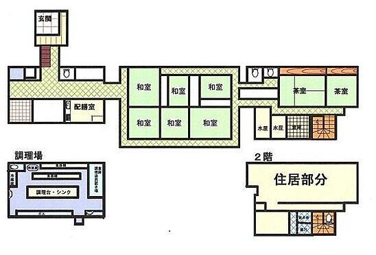 店舗付住宅(建物全部)-野田市野田 間取り