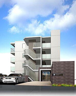 マンション(建物全部)-福岡市南区井尻3丁目 建物東側エントランスイメージ