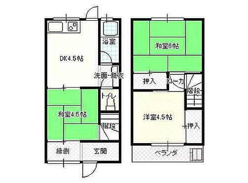 アパート-鳥取市東今在家 間取り