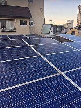 マンション(建物全部)-台東区上野桜木2丁目 太陽光パネル